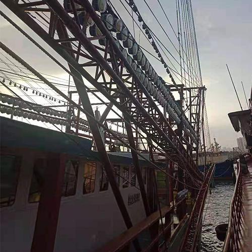 照鱼灯渔船案例